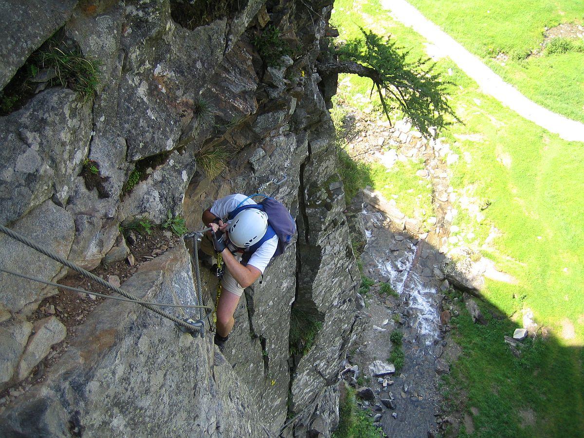 Klettersteig Fallbach : Fallbach klettersteig beans blog