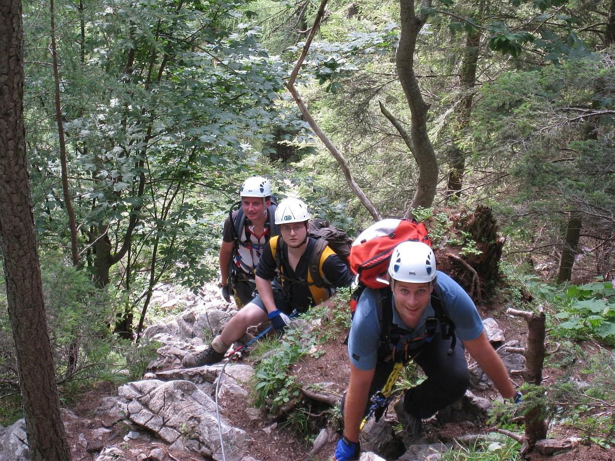 Klettersteig Hochlantsch : Hochlantsch klettersteig beans
