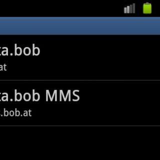 Android-Zugangspunkte für bob