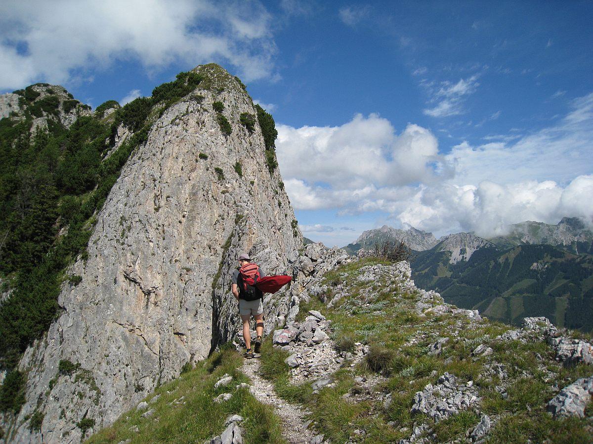 Eisenerzer Klettersteig : Grete klinger steig eisenerzer reichenstein beans blog