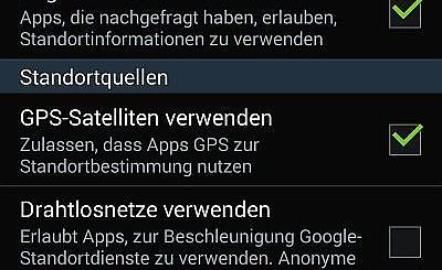Standortdienste